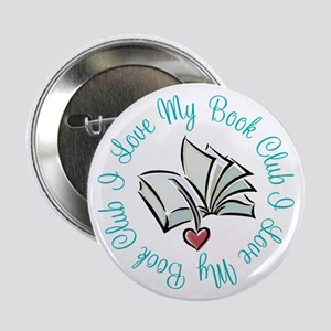 "I Love My Book Club 2.25"" Button"