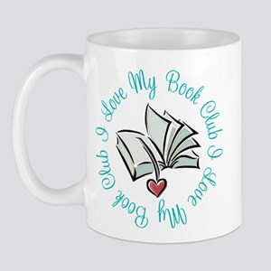 I Love My Book Club Mug