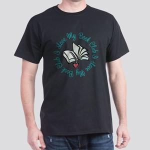 I Love My Book Club Dark T-Shirt