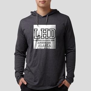 AIRPORT CODES - LHD - LAKE HOO Long Sleeve T-Shirt