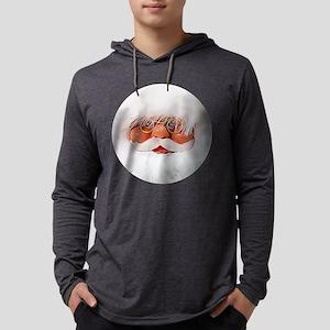 Round Santa Long Sleeve T-Shirt