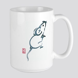 Inquisitive Mouse Large Mug