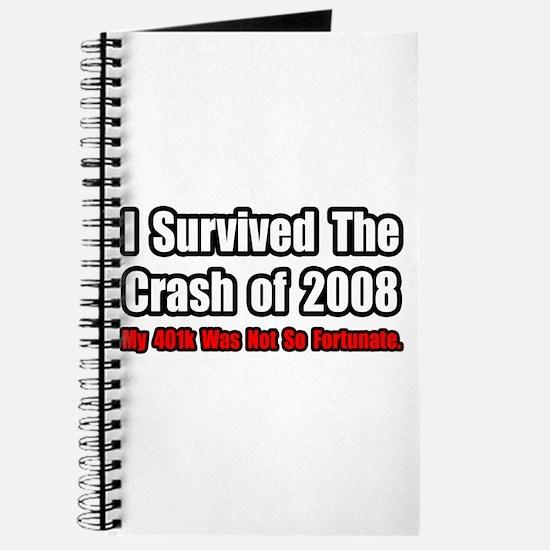 """401k Crash Humor"" Journal"