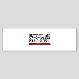 """""""Stock Portfolio Humor"""" Bumper Sticker"""
