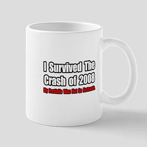 """Stock Portfolio Humor"" Mug"