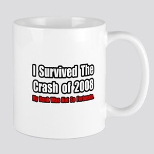 """Market Crash Bank Humor"" Mug"