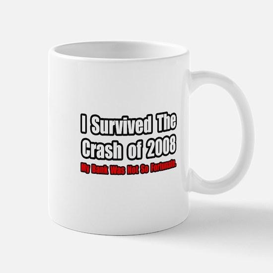 """Market Crash Bank Humor"" Mug"