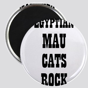 "EGYPTIAN MAU CATS ROCK 2.25"" Magnet (10 pack)"