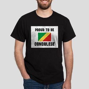 Proud To Be CONGOLESE Dark T-Shirt