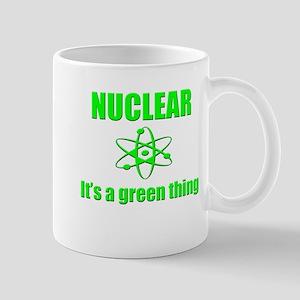 nuclear power go green Mugs