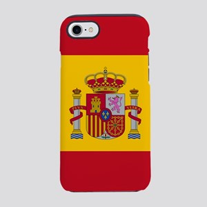 Flag of Spain iPhone 7 Tough Case