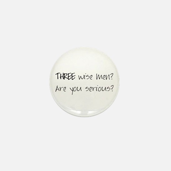 Three wise men? Mini Button