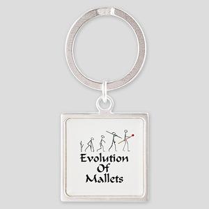 funny mallet evolution xylophone, v Keychains