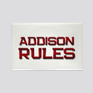 addison rules Rectangle Magnet
