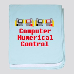 CNC Computer Numerical Control Design baby blanket