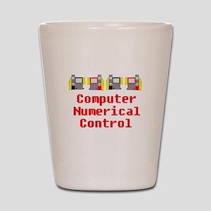 CNC Computer Numerical Control Design Shot Glass