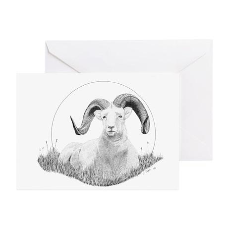 Dall Sheep Greeting Cards (Pk of 20)