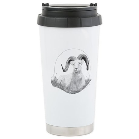 Dall Sheep Stainless Steel Travel Mug