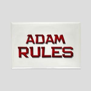 adam rules Rectangle Magnet