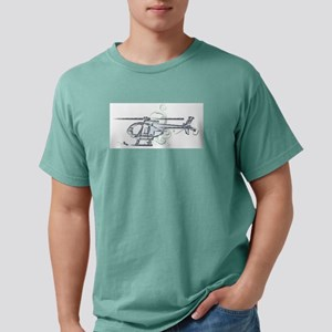 MH6 Helicopter T-Shirt
