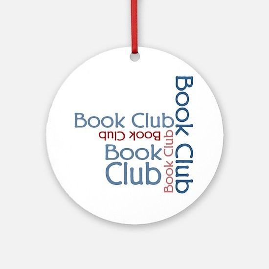 Book Club Multi Text Ornament (Round)