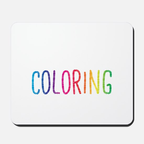 Happiness Is A New Coloring Book Mousepad
