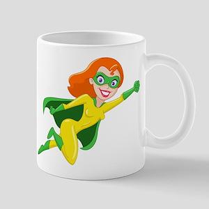 Super Heroine Mugs