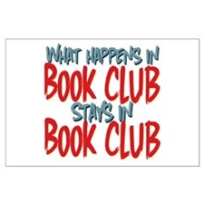 What Happens In Book Club Large Poster