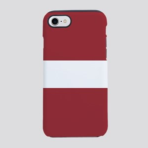 Flag of Latvia iPhone 7 Tough Case