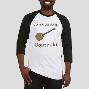 Funny Bouzouki bouzoukis zouk stri Baseball Jersey