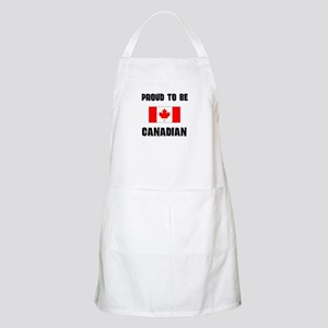 Proud To Be CANADIAN BBQ Apron