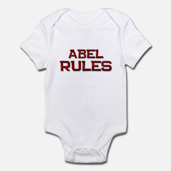 abel rules Infant Bodysuit