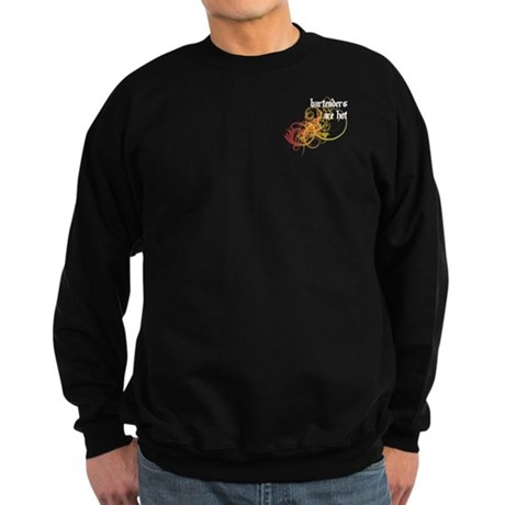 Bartenders Are Hot Sweatshirt (dark)