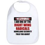 Right Wing Radical Bib