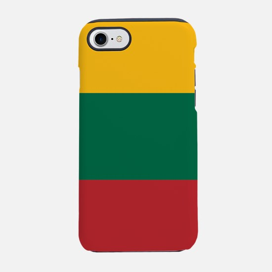 Flag of Lithuania iPhone 7 Tough Case