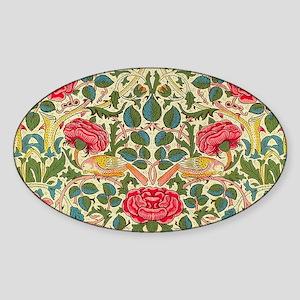 Rose Chintz Pattern Colorful Sticker