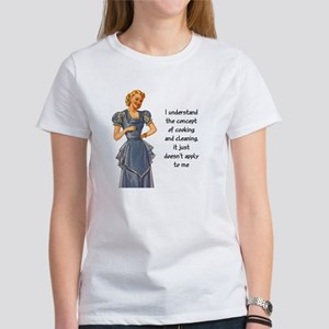 COOKING AND CLEANING Women's T-Shirt
