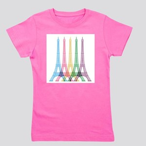 Eiffel Tower Pattern T-Shirt