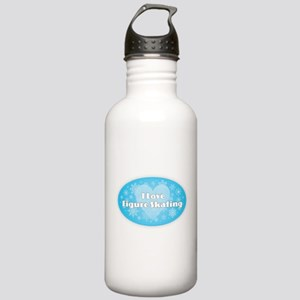 I Love Figure Skating Stainless Water Bottle 1.0L