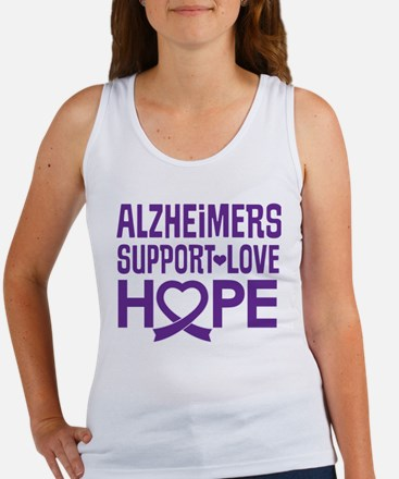 Alzheimers Disease Support Tank Top