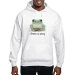 Green is Sexy Hooded Sweatshirt