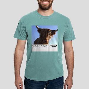 "Scottish ""Heeland Coo"" Ash Grey T-Shirt"
