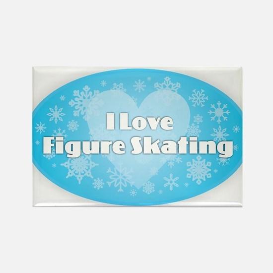 I Love Figure Skating Magnets