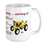 Large Mug with Simple trACtors Slogan