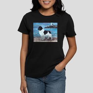 Newfoundland Landseer Dawn Pa Women's Dark T-Shirt