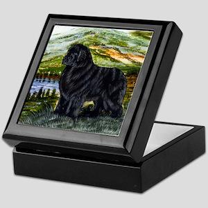 Newfoundland Green Mountain Keepsake Box