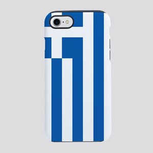 Flag of Greece iPhone 7 Tough Case