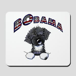 BObama 1st Dog PWD Mousepad