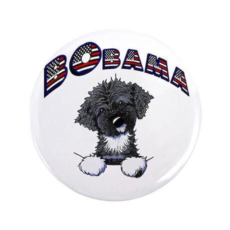 "BObama 1st Dog PWD 3.5"" Button"