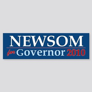 Newsom for Governor Bumper Sticker